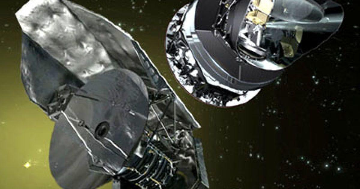 """Телескопи """"Планк"""" і """"Гершель"""" @ ESA"""