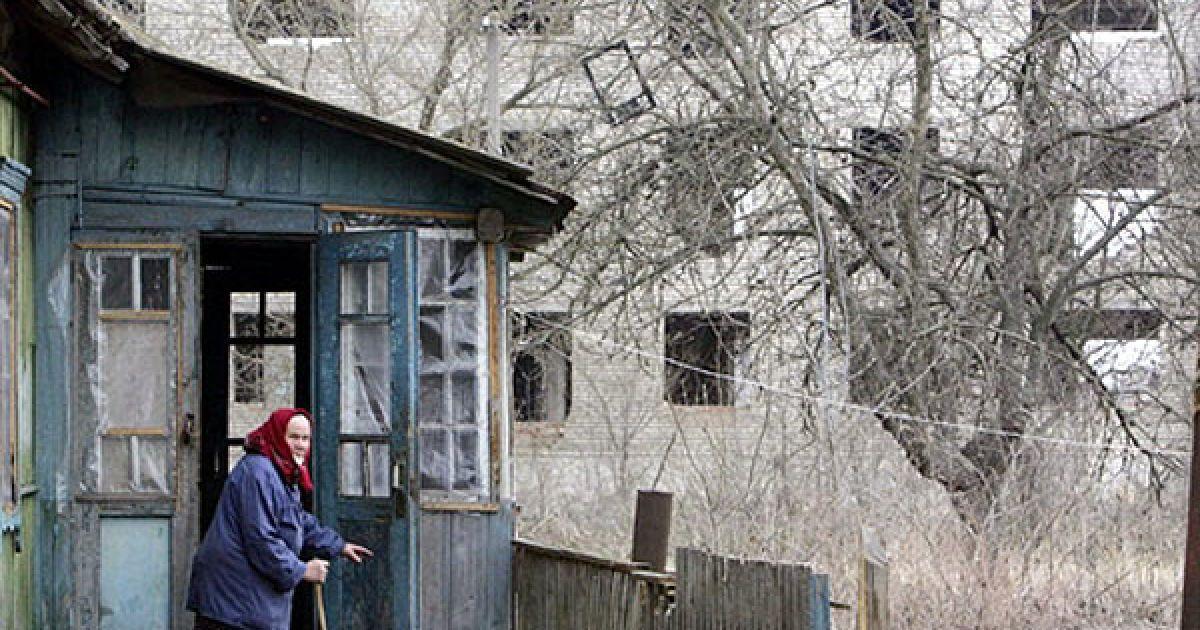 Білорусь, Стрелічево, 30-км зона. @ AFP
