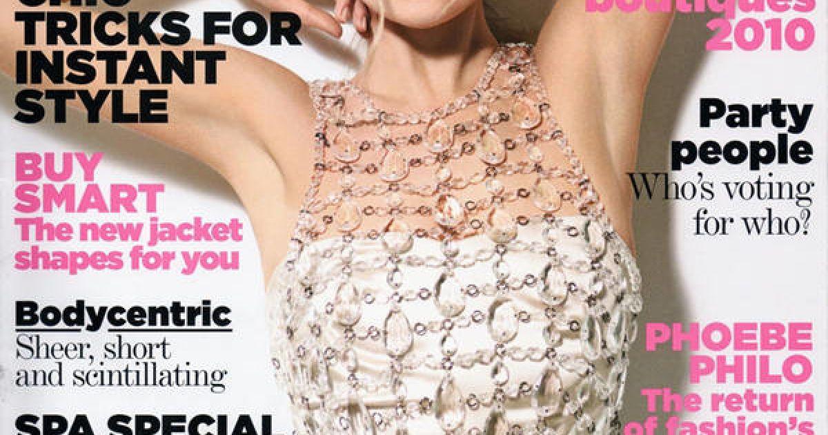 Кейт Мосс на обкладинці Vogue @ Magxone