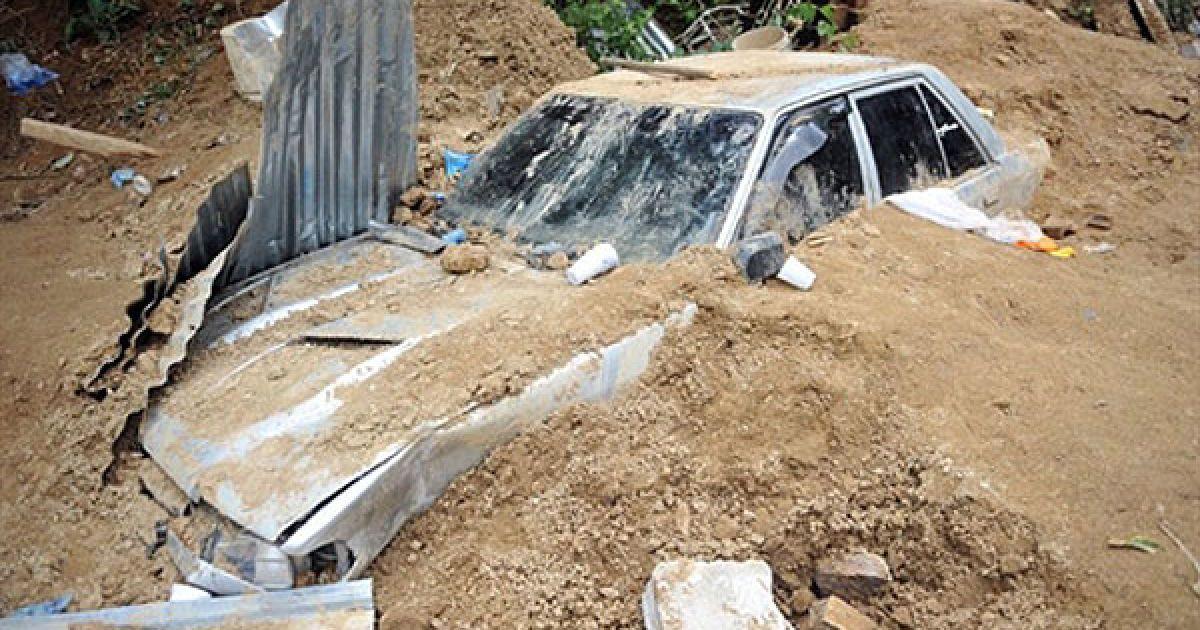 У Сальвадорі стихія забрала життя дев'яти людей, двоє пропали безвісти. @ AFP