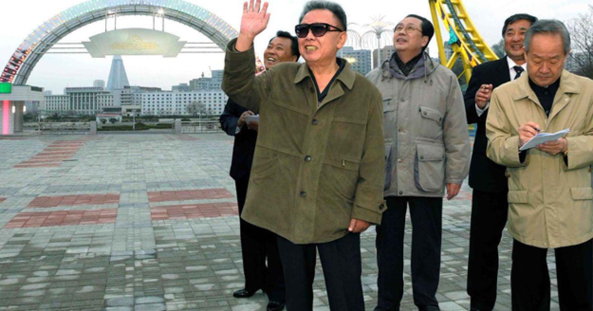 Ким Чен Ир @ AFP