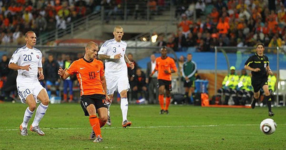 На 85-й хвилині голландці подвоїли перевагу. @ AFP