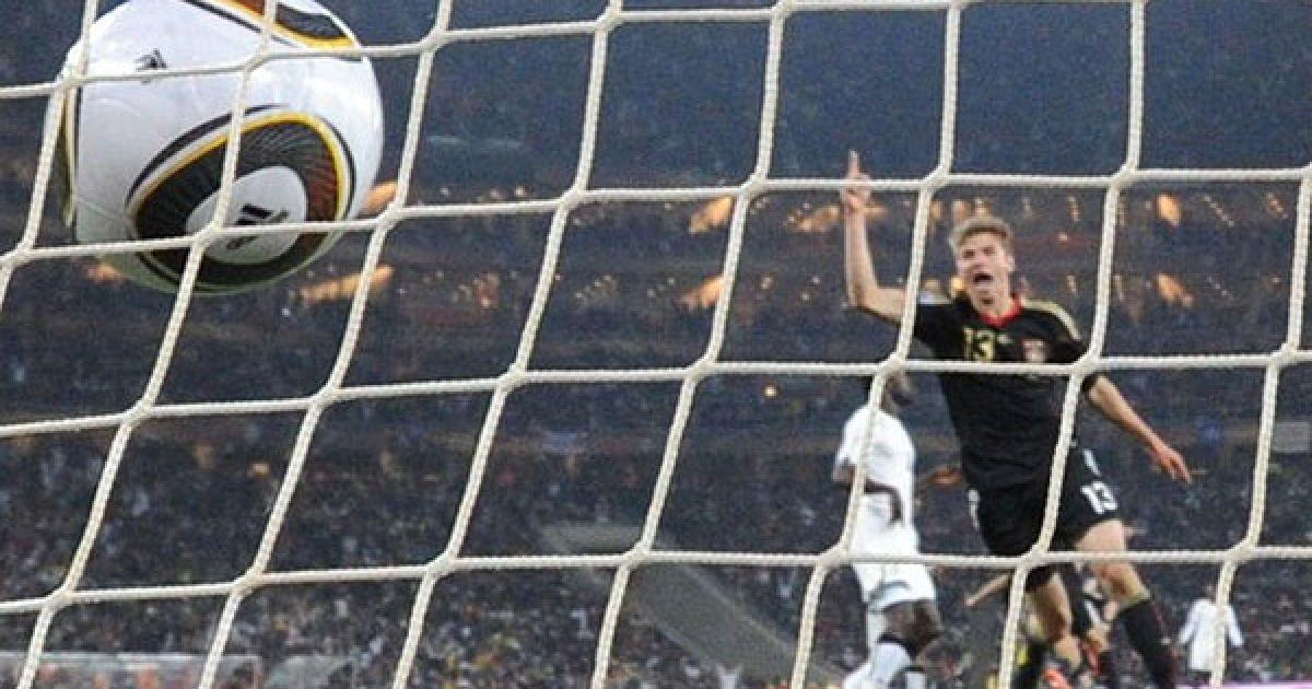 Німці забили свій гол на 60-й хвилині. Прекрасний удар в дев'ятку 20-ти метрів завдав Мезут Озіл. @ AFP