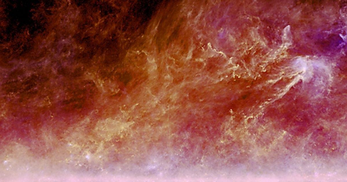 """Пилові """"хмари"""" у псевдокольорах @ ESA"""