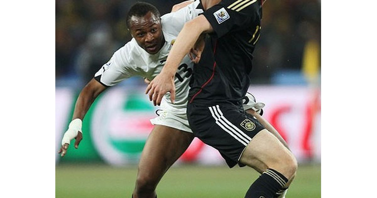 Збірна Німеччини перемогла збірну Гани з рахунком 1:0, і обидві команди вийшли у 1/8 фіналу Чемпіонату світу. @ AFP