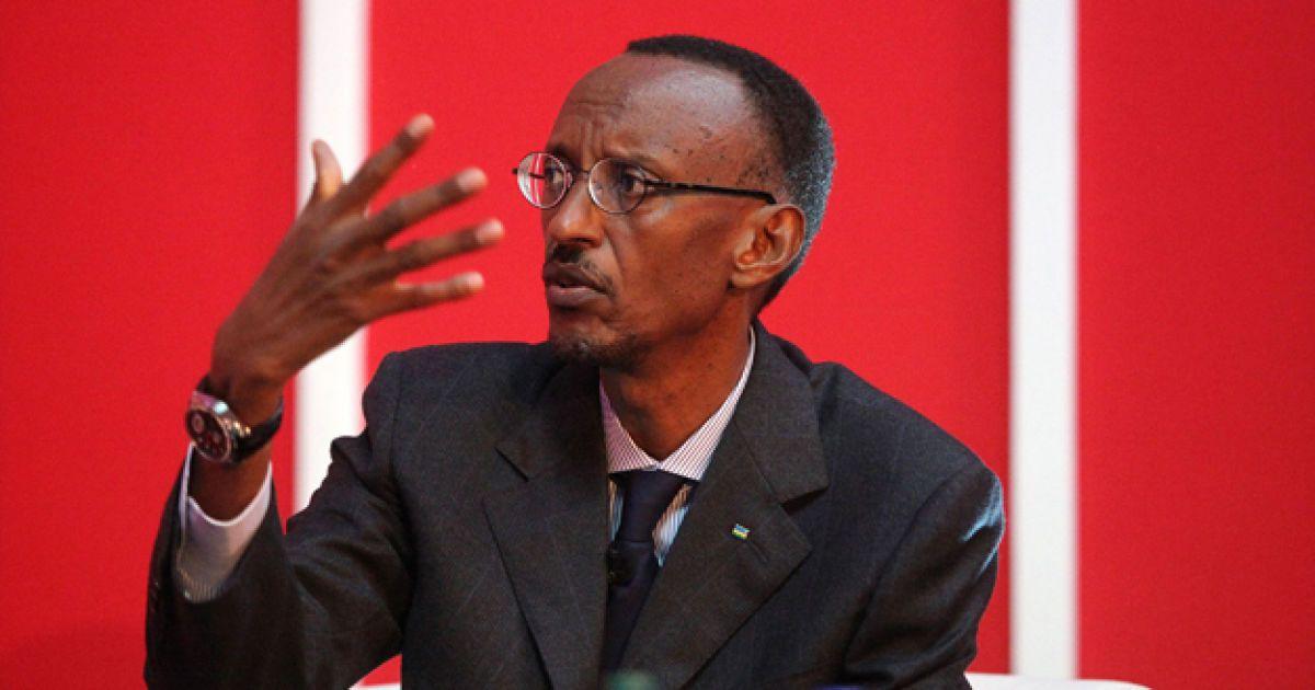 Поль Кагаме @ AFP