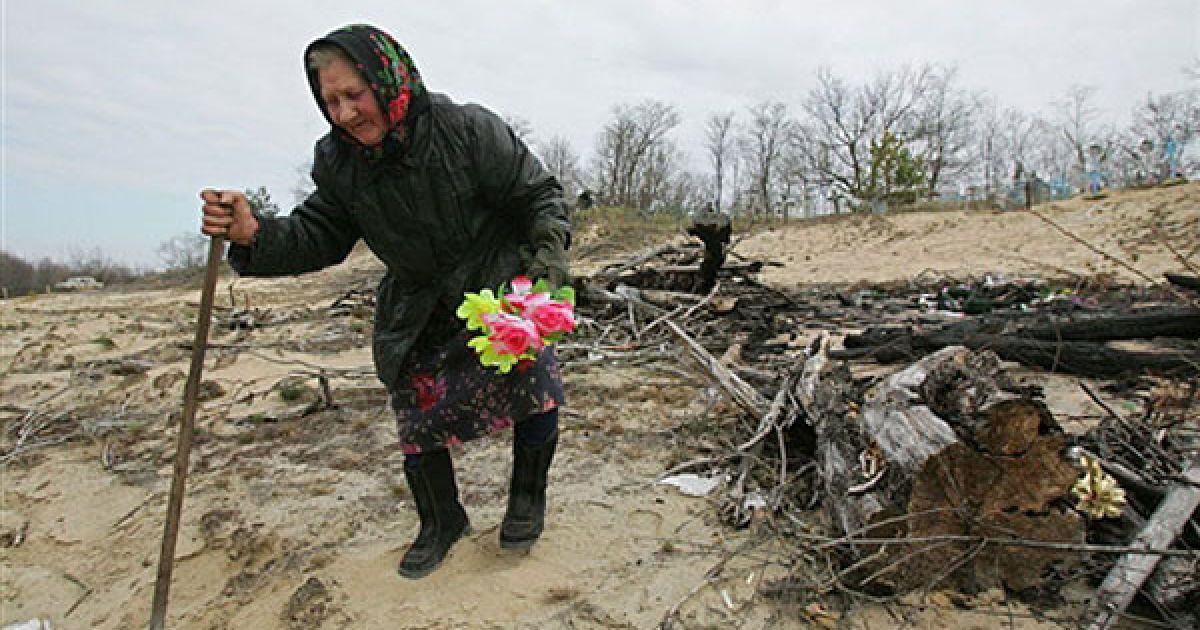 З 1986 року населення чорнобильської зони відчуження скоротилось у 4 рази. @ AFP