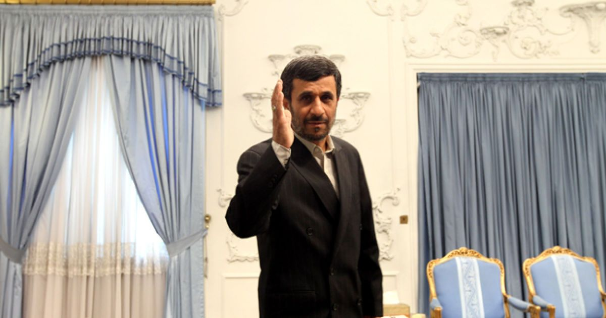 Махмуд Ахмадинежад @ AFP