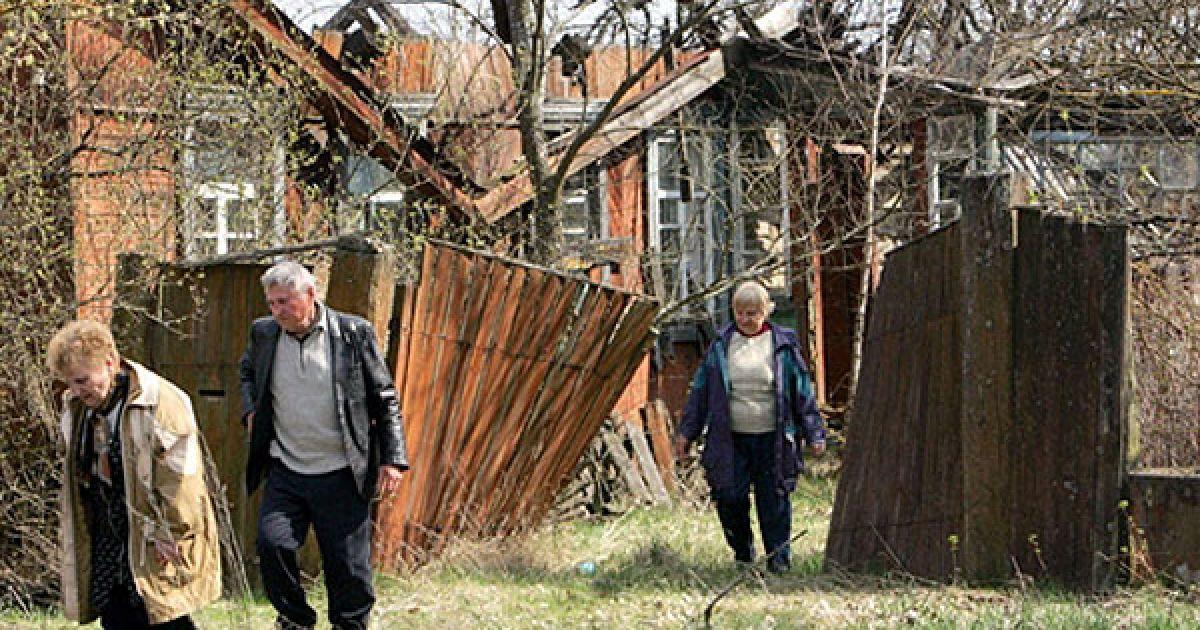 Білорусь, село Оревичі, 30-км зона. @ AFP