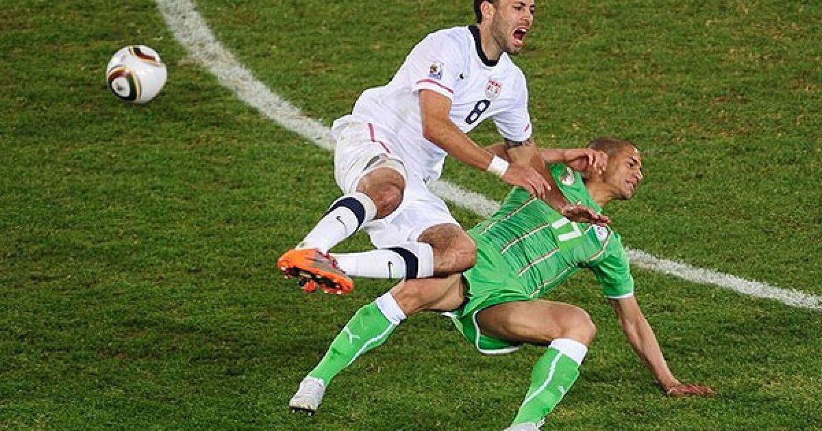 Збірна США перемогла команду Алжиру у третьому турі Чемпіонату світу з рахунком 1:0. @ Getty Images/Fotobank