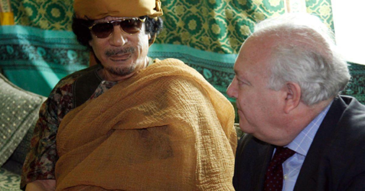 Муаммар Каддафи @ AFP