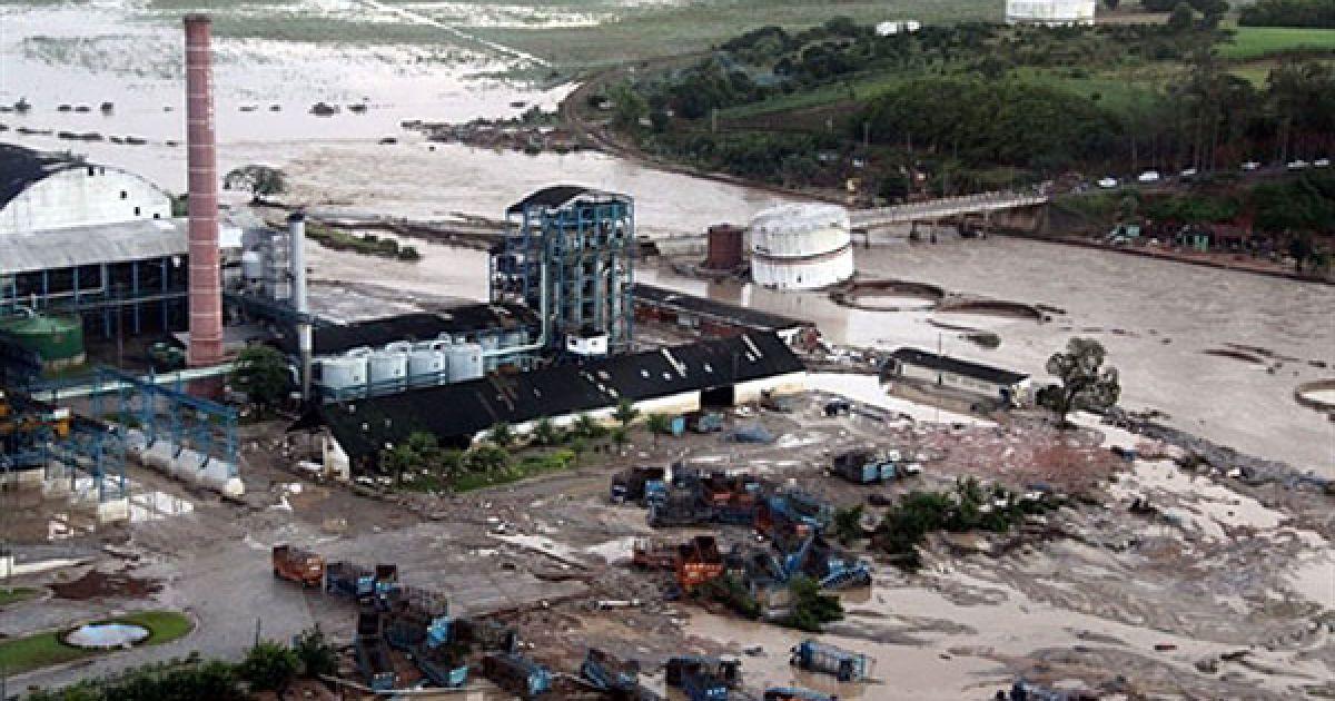 Всього у північно-східному регіоні Бразилії від удару стихії загинули 38 людей. @ AFP
