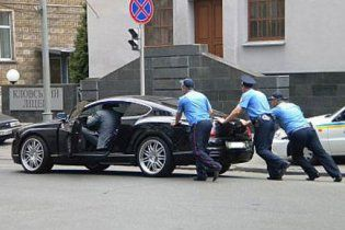 БЮТовец на Bentley попал в ДТП