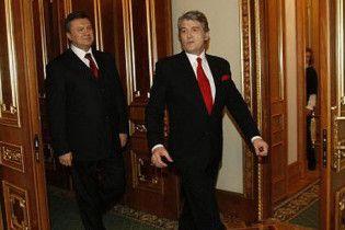 Українці поставили Януковичу ту ж оцінку за перший рік, що й Ющенку