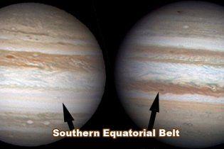 Загадково зникло одне з кілець Юпітера
