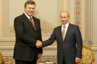 Путин: Янукович кардинально изменил отношения между Украиной и Россией