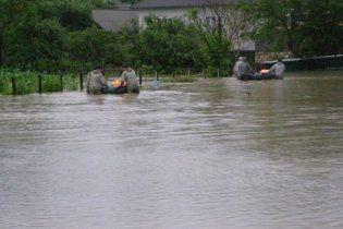 Ситуация с паводком на Буковине стабилизировалась