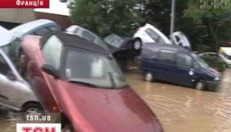 Ливни и наводнения во Франции