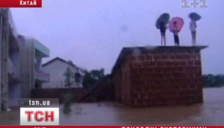 Китай затопило