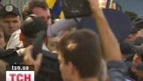 """Беркут"" задержал участников митинга против Януковича"