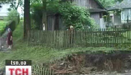 Последствия наводнения на Львовщине