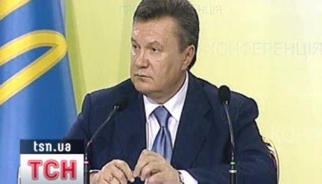 Янукович отчитался о первых 100 днях