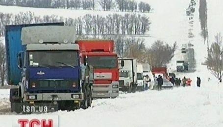 Снігова блокада