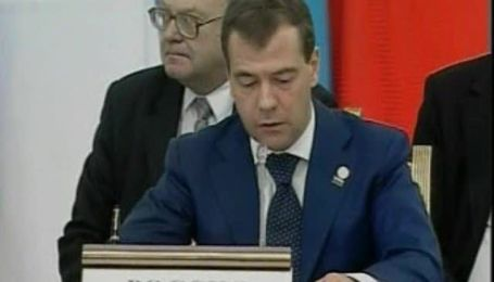 Медведев о ситуации в Киргизстане