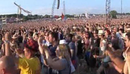 Рок-фестиваль в британском городе Гластонберри