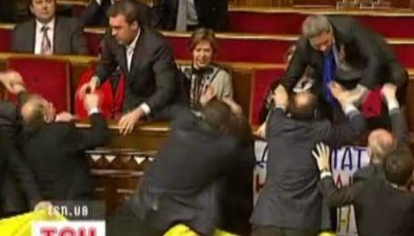 Депутати відповідатимуть за бійки