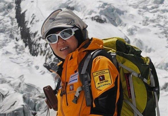 Альпіністка О Юн Сан