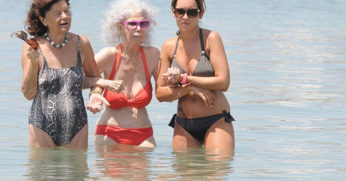 Секс на пляже развод