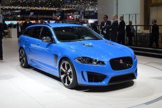 """Jaguar выкатил в Женеве """"заряженный"""" универсал"""