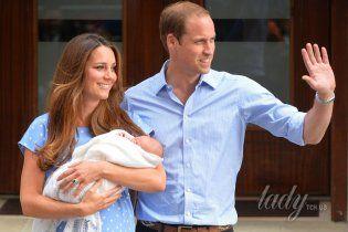 Кэтрин и Уильям раскрывают тайну: почему сына назвали Георг Александр Луи?