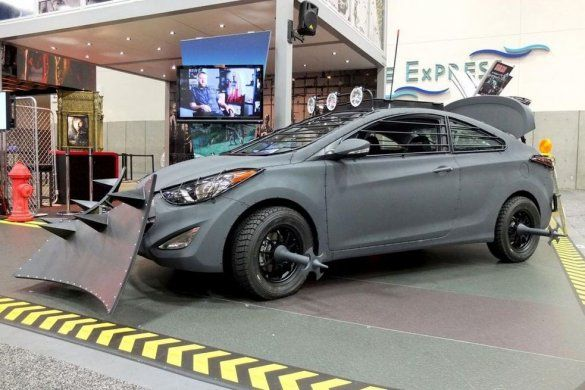 Hyundai Veloster Zombie