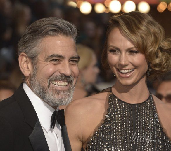 Джордж Клуни и Стейси Киблер _5