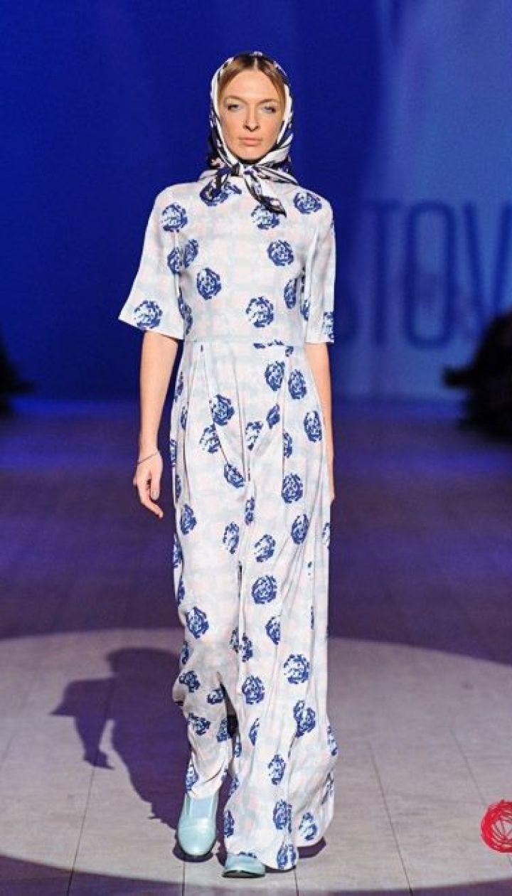 "Спецпроект канала ""1+1"" Fashion в прямом эфире, Василиса Фролова @ fashionweek.ua"