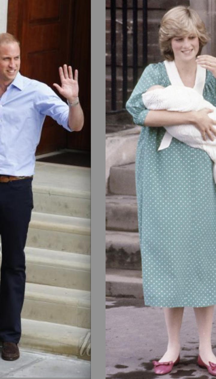 Герцогиня Кембриджская и принц Уильям (2013 год) и принцесса Диана и принц Чарльз (1981 год) @ East News