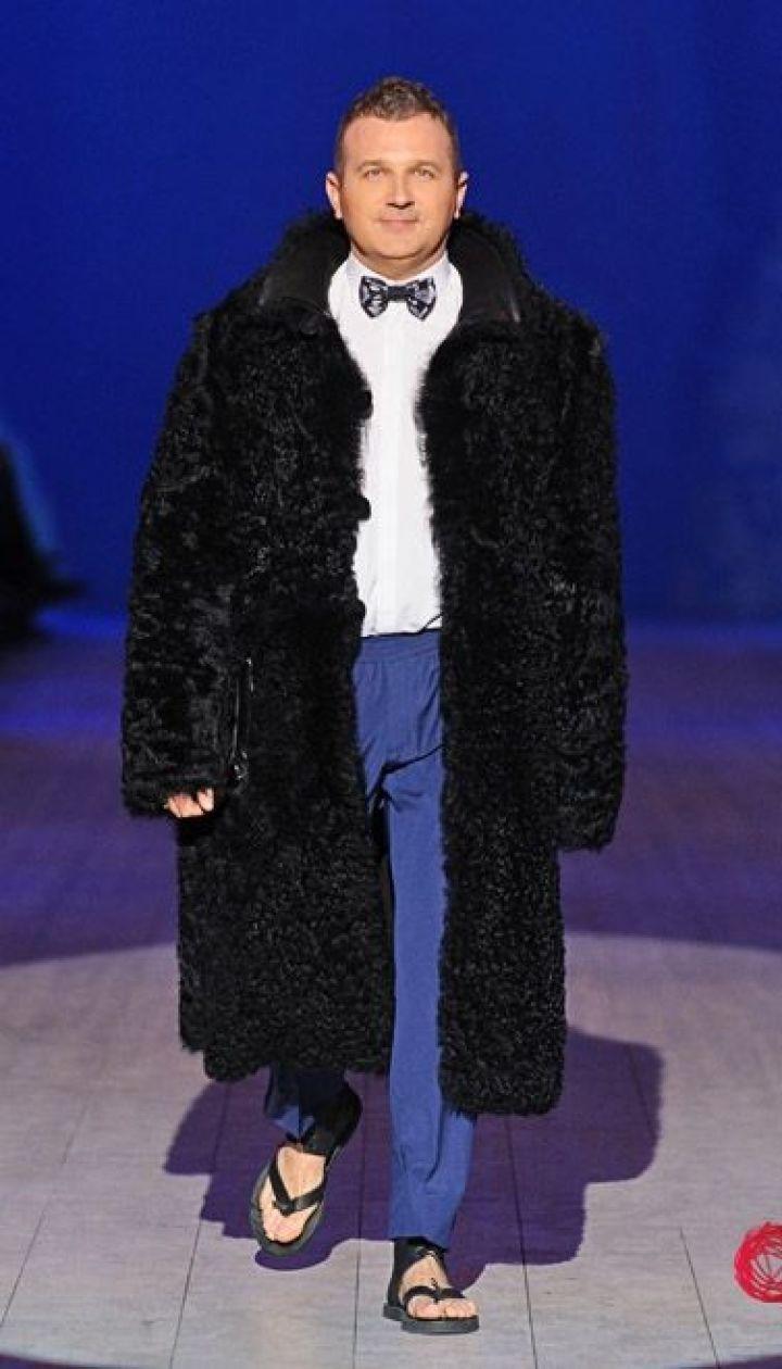 "Спецпроект канала ""1+1"" Fashion в прямом эфире, Юрий Горбунов @ fashionweek.ua"