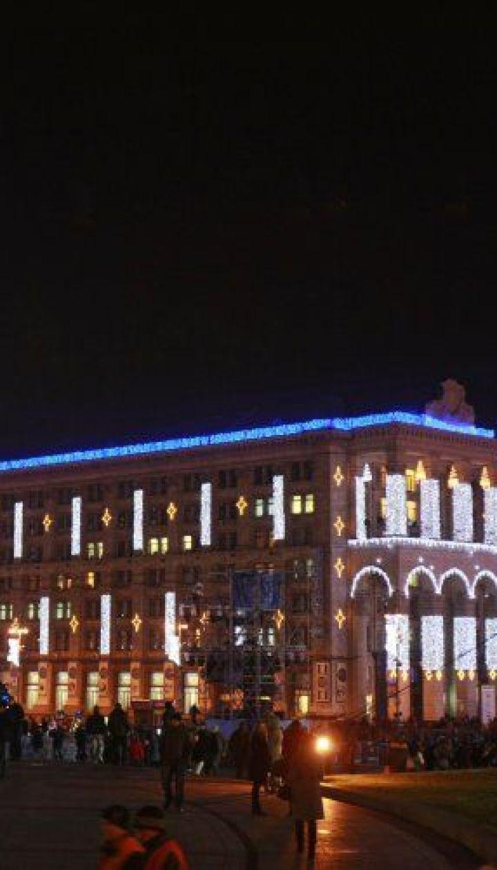 фото: Владимир Гонтар / Киев. Новогодняя елка 2011 @ УНІАН