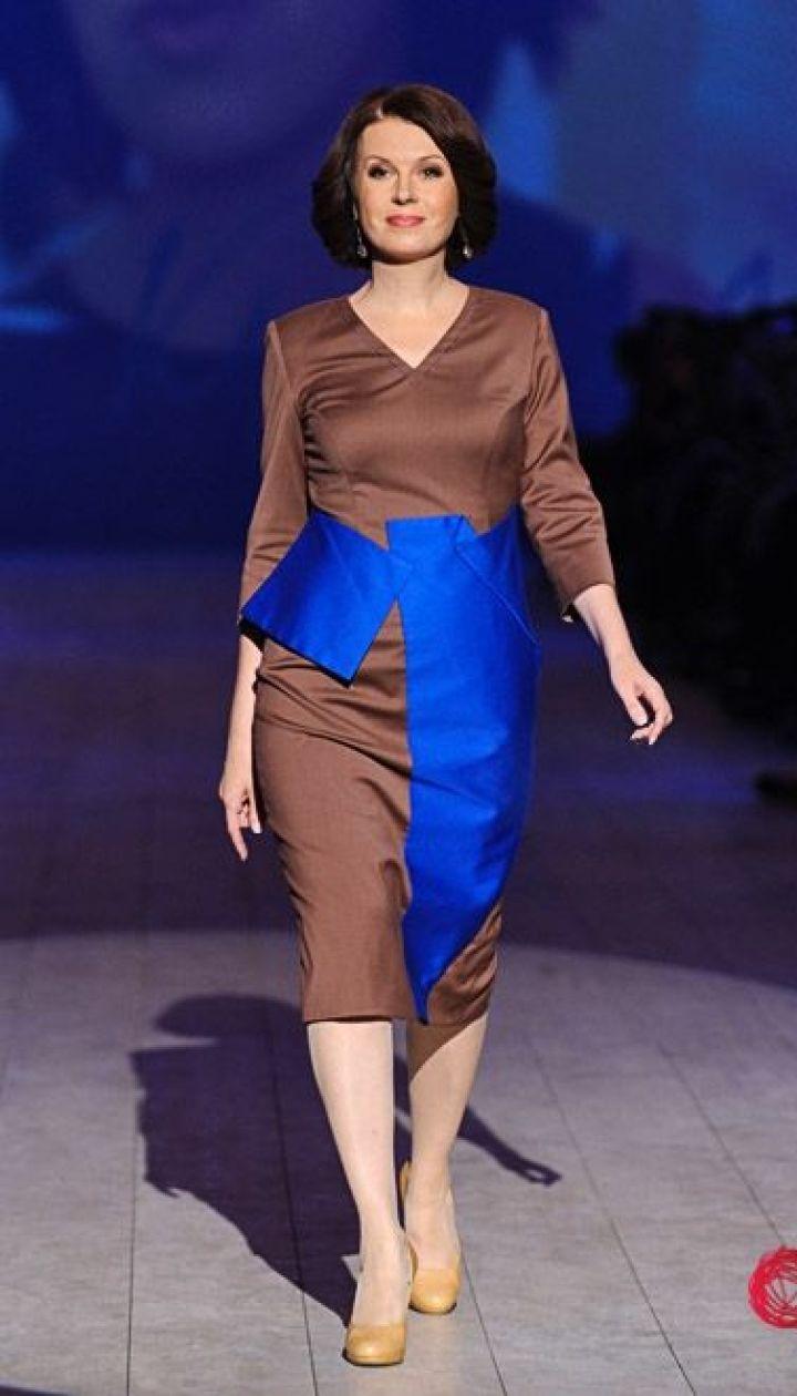 """Спецпроект канала """"1+1"""" Fashion в прямом эфире, Алла Мазур @ fashionweek.ua"""