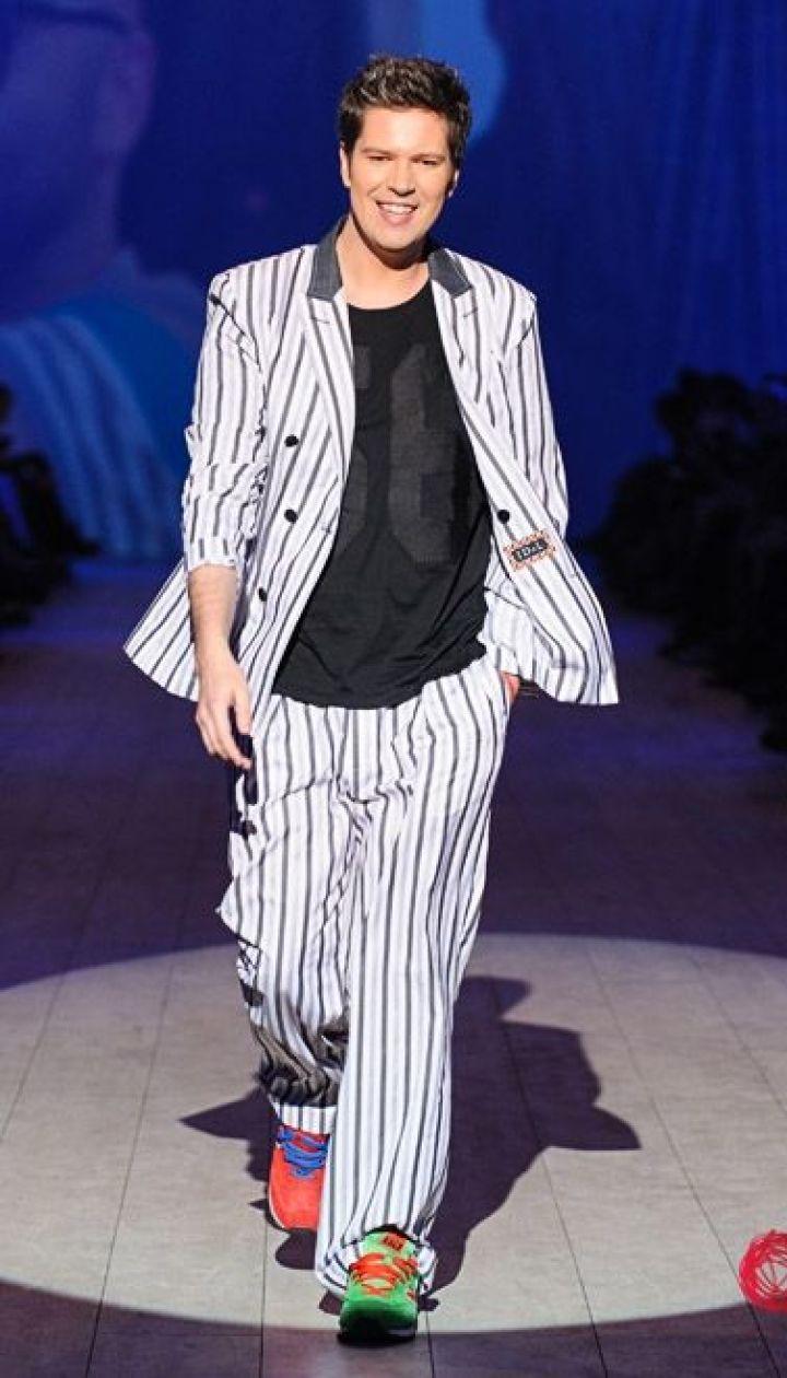 "Спецпроект канала ""1+1"" Fashion в прямом эфире, Даниил Грачев @ fashionweek.ua"