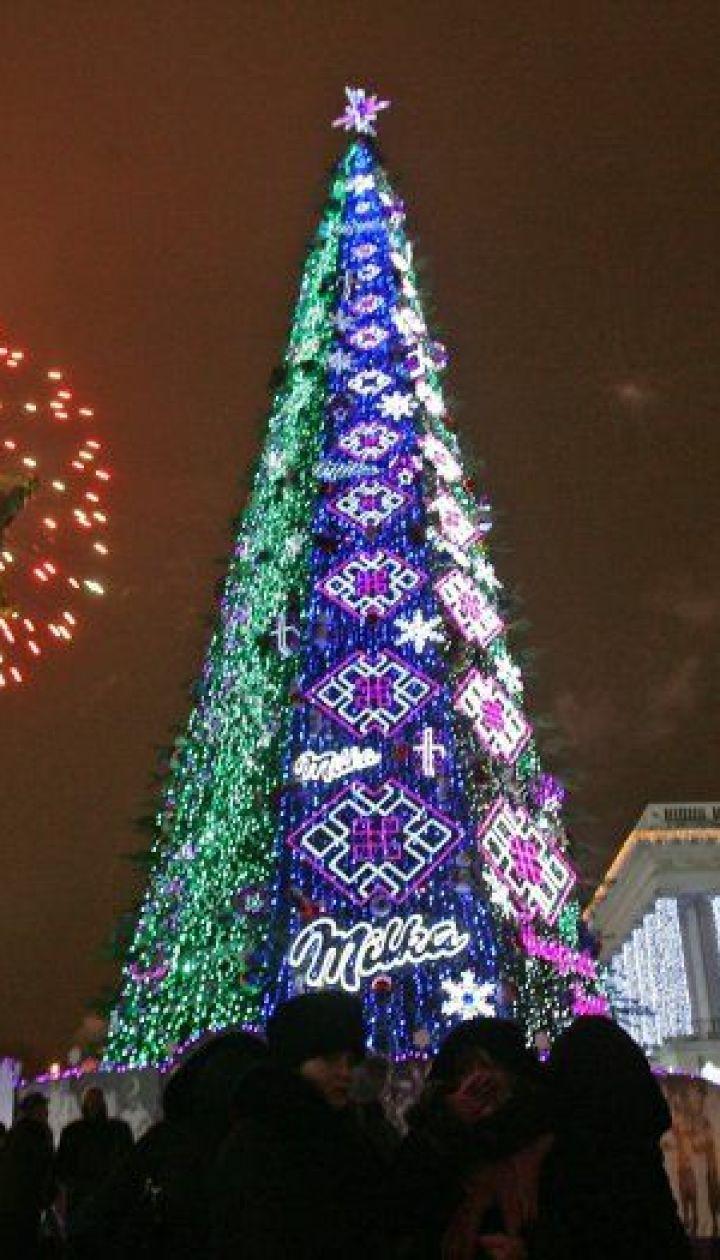 фото: Синица Александр/ Киев. Новогодняя елка 2010 @ УНІАН