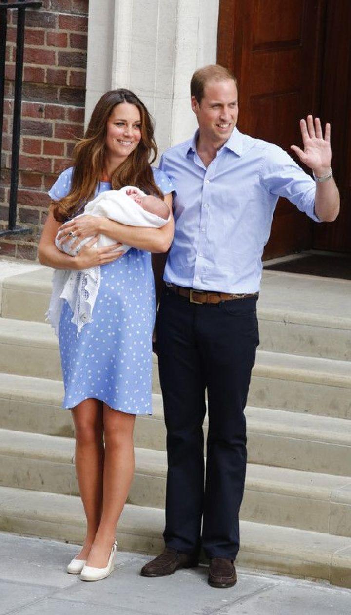 Герцогиня Кембриджская и принц Уильям (2013 год) @ EPA/UPG