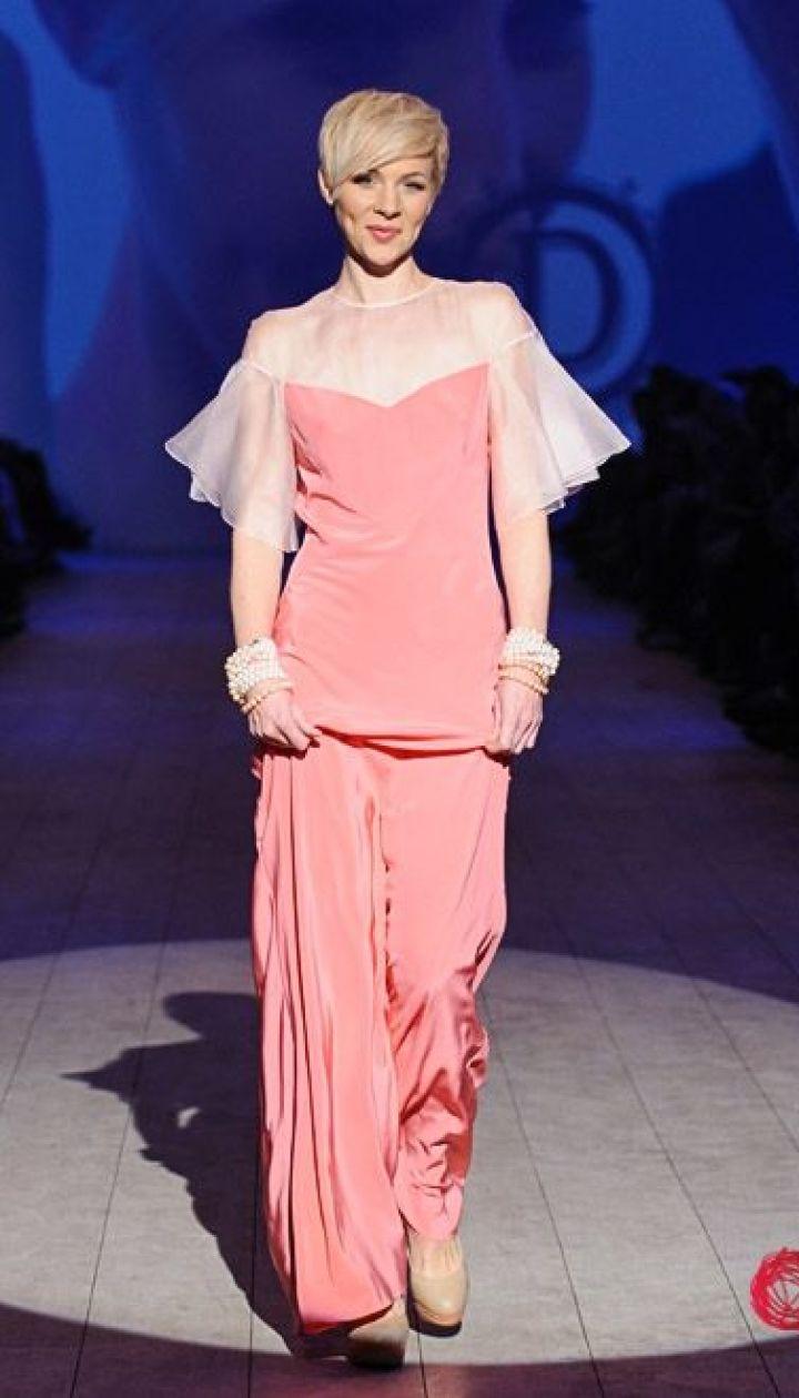 "Спецпроект канала ""1+1"" Fashion в прямом эфире, Марина Леончук @ fashionweek.ua"