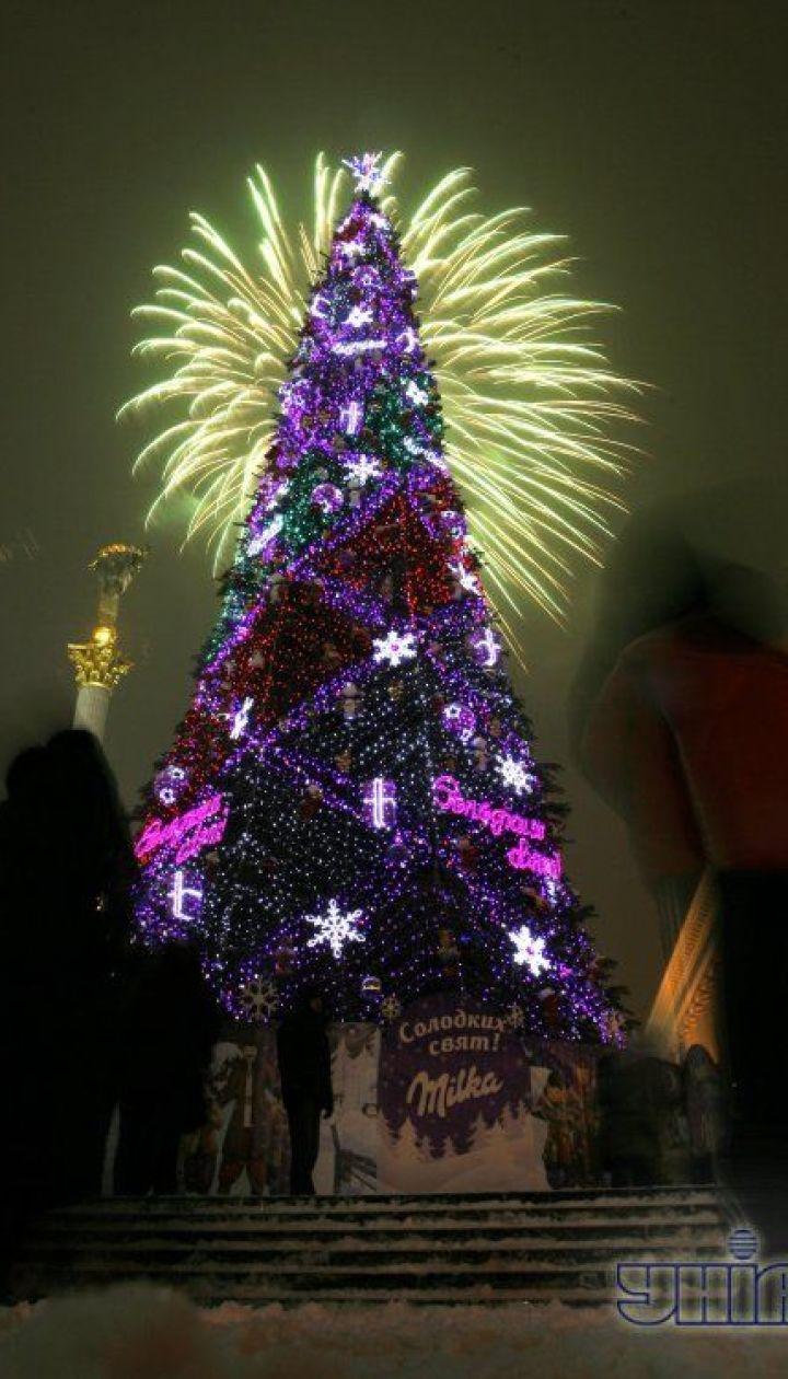 фото: Скакодуб Андрей/ Киев. Новогодняя елка 2009 @ УНІАН