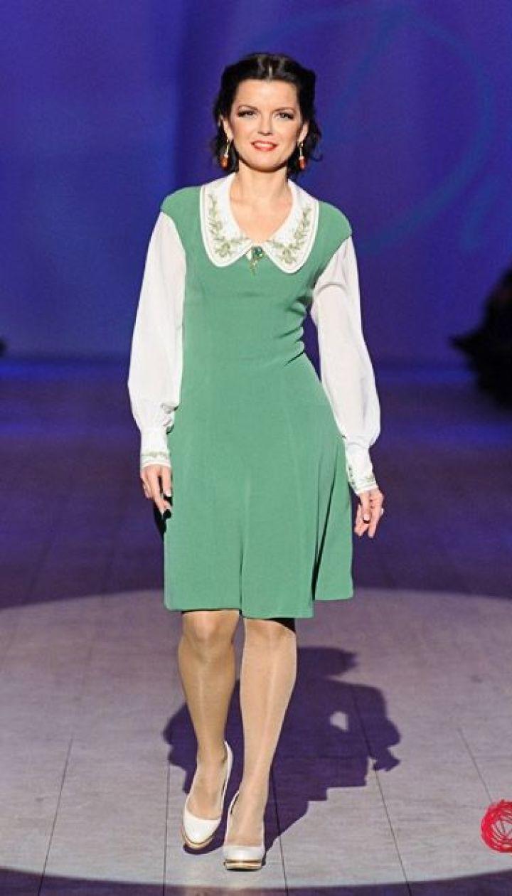 """Спецпроект канала """"1+1"""" Fashion в прямом эфире, Маричка Падалко @ fashionweek.ua"""