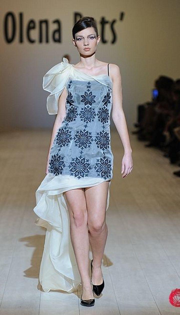 Показ коллекции весна-лето 2014 Olena DATS' @ fashionweek.ua