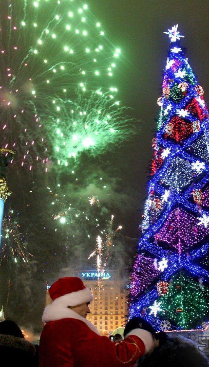 фото: Синица Александр/ Киев. Новогодняя елка 2007 @ УНІАН