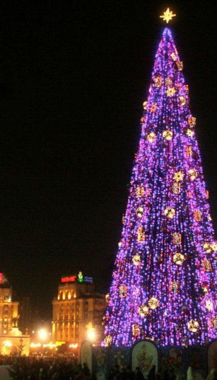 фото: Синица Александр/ Киев. Новогодняя елка 2005 @ УНІАН